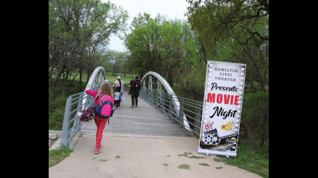 Outdoor movie features 'Croods'