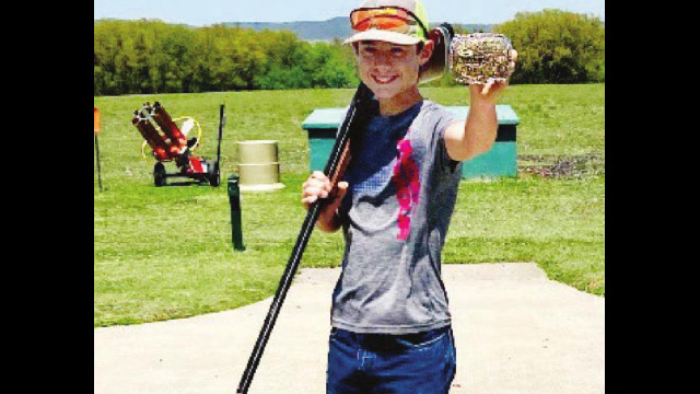 Koether in top 5 at shooting contest